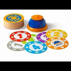 RING IT! The Clap & Ring Game   Blue Orange Ring It game